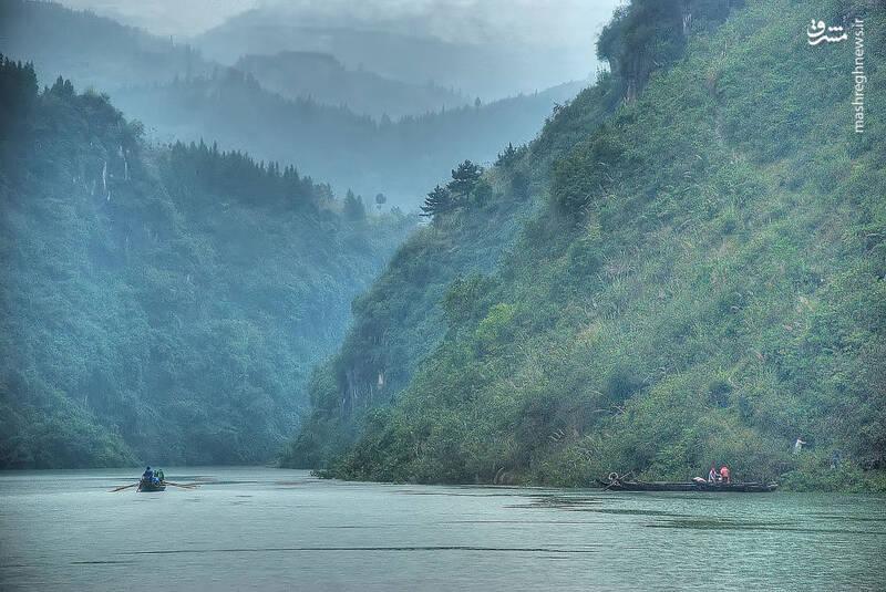 رودخانه یانگ تسه در اورآسیا