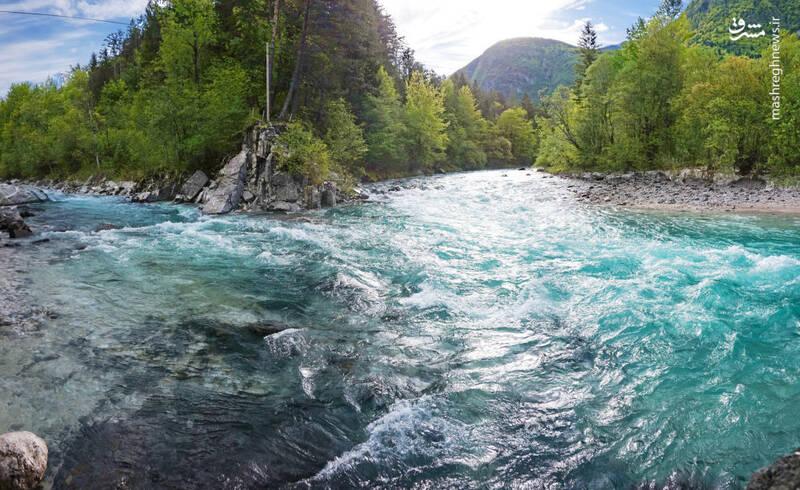 رودخانه سوچا در اسلووانی