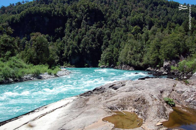 رودخانه فوتالهوفو در آرژانتین
