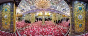 تصویر پانوراما زیبا از حرم امام حسین(ع)