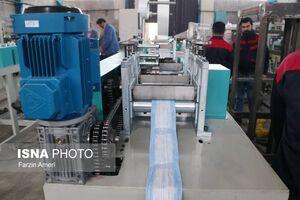 دستگاه تولید اتوماتیک ماسک در کشور ساخته شد