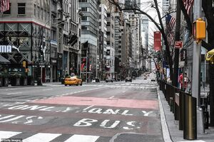 خیابانهای خلوت نیویورک