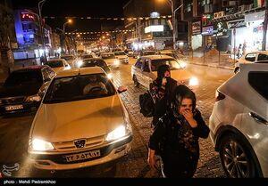 عکس/ اعمال محدودیتهای ترافیکی در اهواز
