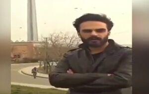 فیلمی از عوامل بادمجانی شدن فضای پایتخت در بازداشت
