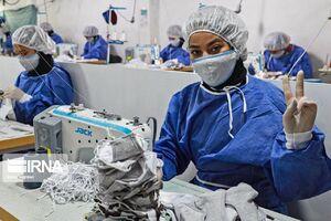 ساماندهی زندانیان برای تولید ماسک و دستکش