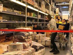 عکس/ قفسههای خالی فروشگاهها در ترکیه پس از گسترش بیماری کرونا در این کشور