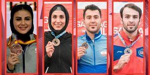 ۴ سهمیه کاراته ایران در المپیک قطعی شد