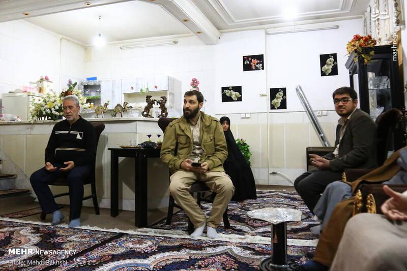 ابراز همدردی با طلبه جهادگر قمی