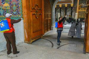 ضدعفونی حرمین کاظمین