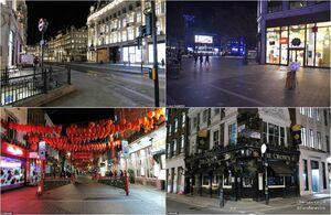 عکس/ کرونا مغازههای انگلیس را تعطیل کرد