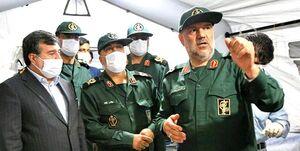بیمارستانهای «نیروی دریایی سپاه» در خدمت بیماران کرونایی