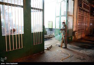 روند مستمر ضدعفونی معابر مشهد