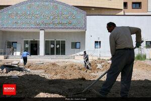 عکس/ آمادهسازی بیمارستان امیرالمومنین(ع) قم