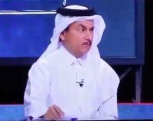 فیلم/ فرار وزیر بهداشت قطر پس از عطسه مجری!