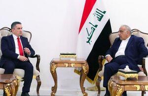مامور تشکیل کابینه عراق به دیدار عبدالمهدی رفت