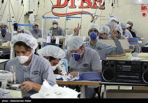 روند مستمر تولید ماسک در همدان