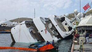 عکس/ غرق شدن قایق تفریحی شاهزاده سعودی
