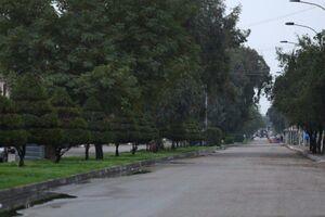 تصاویر ی از منع رفت و امد در بغداد