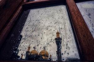 عکس/ حال وهوای بارانی کاظمین