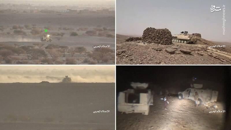 خسارتهای نیروهای وابسته به ائتلاف سعودی در الجوف