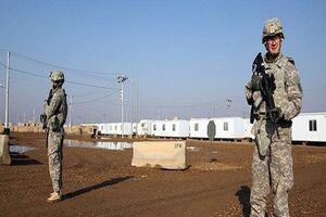 حشد الشعبی: آمریکا پایگاه K۱ را به زندان سربازانش تبدیل کرد