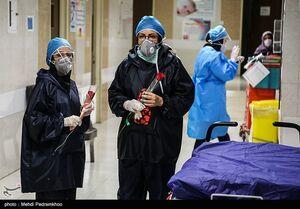 عکس/ سفره هفت سین در بیمارستان