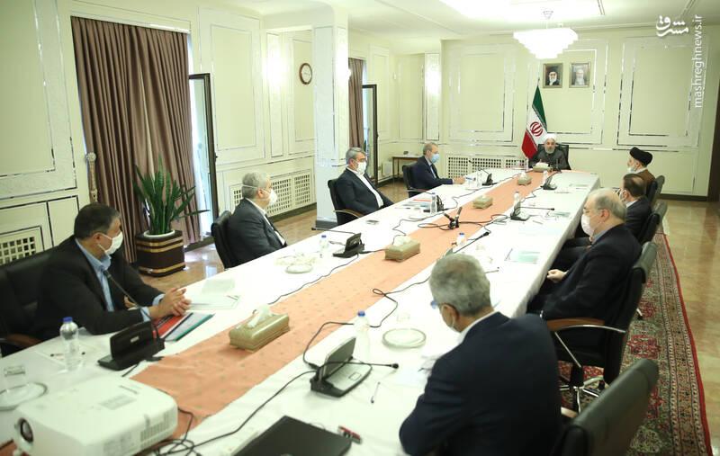 عکس/ جلسه سران قوا با مسئولین ستاد ملی مقابله با کرونا