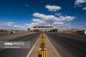 عکس/ وضعیت جادههای ورودی شمال اصفهان
