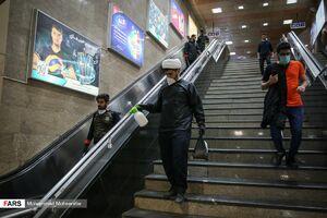 عکس/ شب سال نو طلبههای جهادی تهران