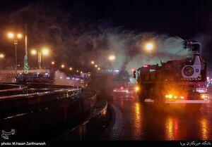 ۶ خودروی جدید آتشنشانی برای سرعت بخشیدن گندزدایی معابر به میدان آمد + تصاویر