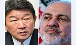 وزرای خارجه ایران و ژاپن با یکدیگر گفتوگو کردند