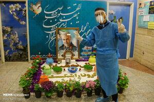 عکس/ نوروز نیروهای جهادی در بیمارستان