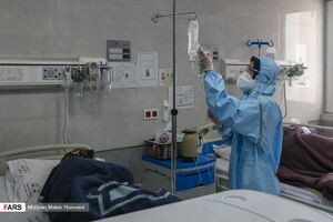 عکس/ تحویل سال نو برای مدافعان سلامت
