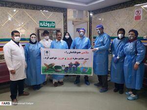 عکس/ روز اول بهار در بیمارستانهای جنوب سیستان و بلوچستان