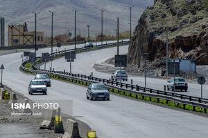 عکس/ وضعیت جادههای ورودی و خروجی اراک
