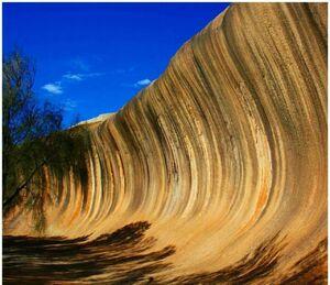 عکس/ موجهای سنگی استرالیا