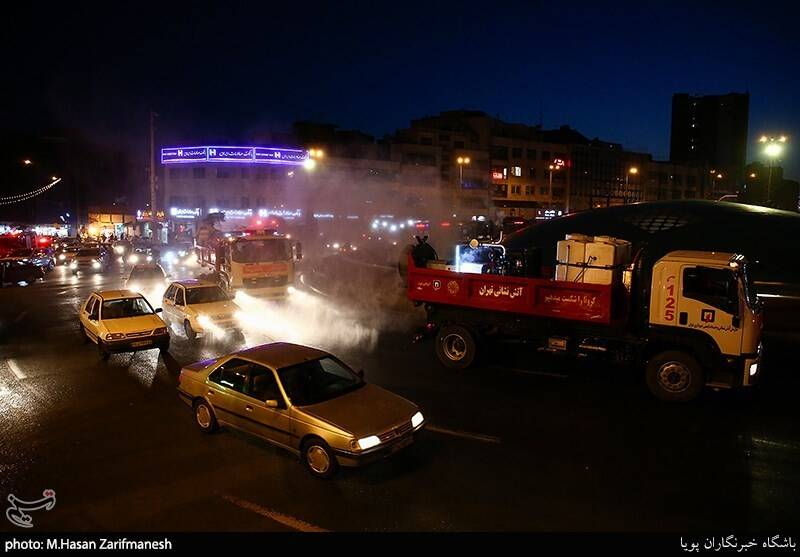 آتشنشانی , سازمان آتشنشانی تهران , ویروس کرونا , معاونت خدمات شهری شهرداری تهران ,