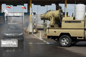 عکس/ رزمایش ارتش برای مقابله با کرونا