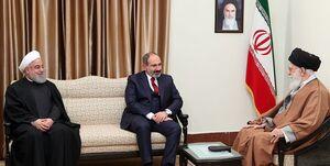 نخستوزیر ارمنستان نوروز را به رهبر انقلاب تبریک گفت