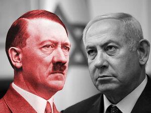 نتانیاهو هیتلر نازی رژیم صهیونیستی