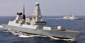 کشتی جنگی انگلیسی پس از 7 ماه خلیج فارس را ترک کرد