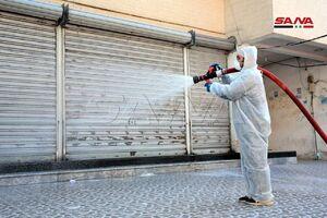 ضدعفونی شهر لاذقیه