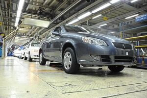 هدفگذاری تولید ۶۰۰ هزار دستگاه خودرو در سال۹۹