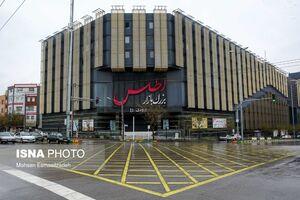 عکس/ کرونا بازارهای مشهد را تعطیل کرد
