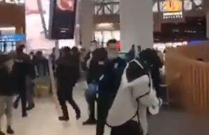 شورش در فرودگاه استانبول