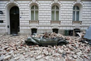 تصاویری از خسارات زلزله زاگرب