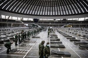 تصاویر وحشتناک از صربستان و اقدامات فوری عليه كرونا