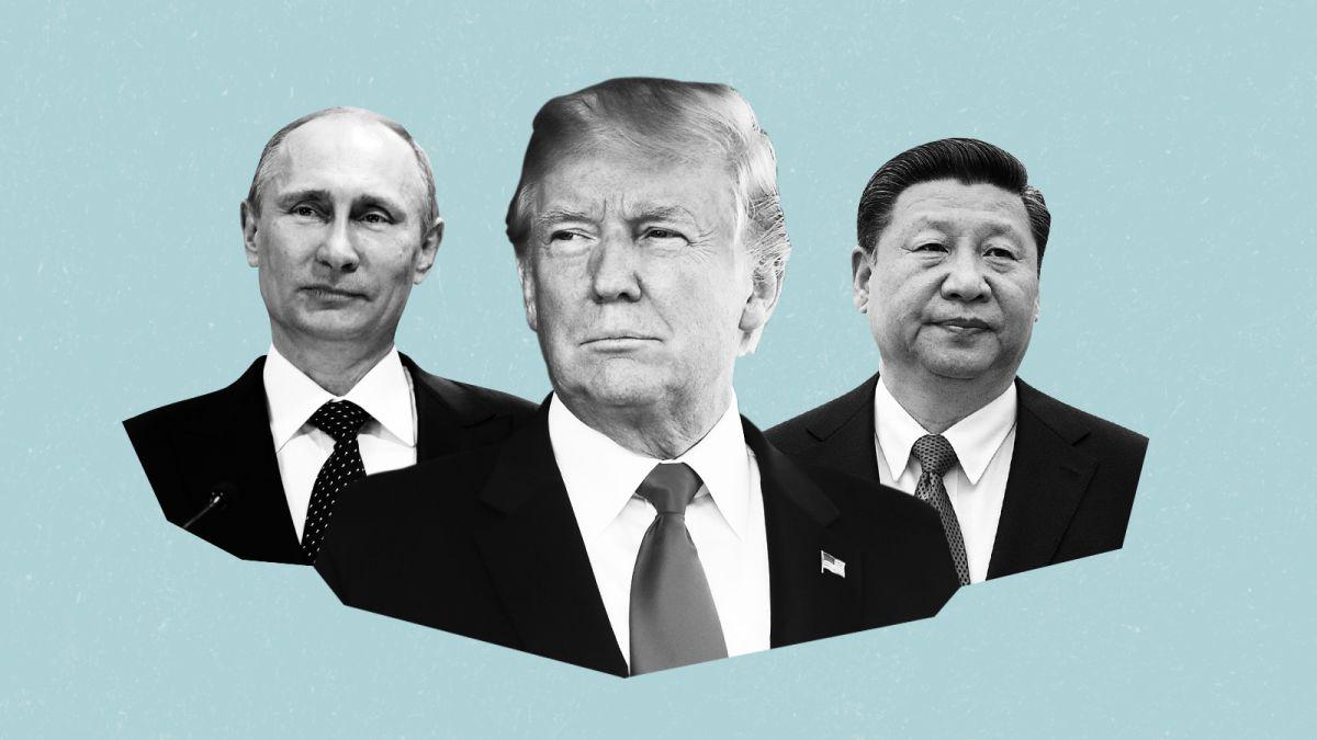 ترامپ پوتین کرونا