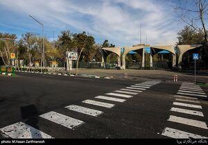 عکس/ تهران در روزهای بدون هیاهو