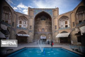 عکس/ حال و هوای بازار بزرگ اصفهان